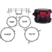 AR529SBNV DRUM SET MAPEX