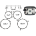 MA529SFBAW DRUM SET MAPEX