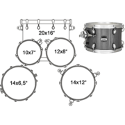 MA504SFGW DRUM SET MAPEX